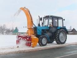 Снегоочиститель шнекороторный (механический) ФРС-200 М